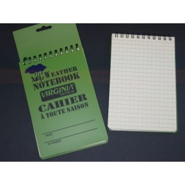 "Carnet de Note ""All Weather"""
